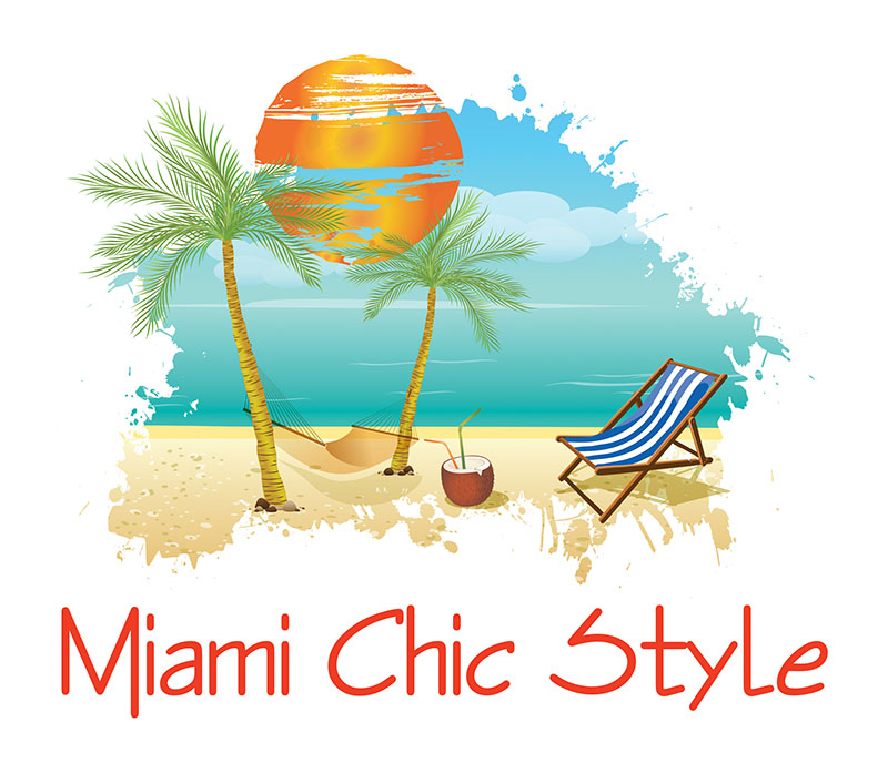 Miami Chic Style Logo - AI